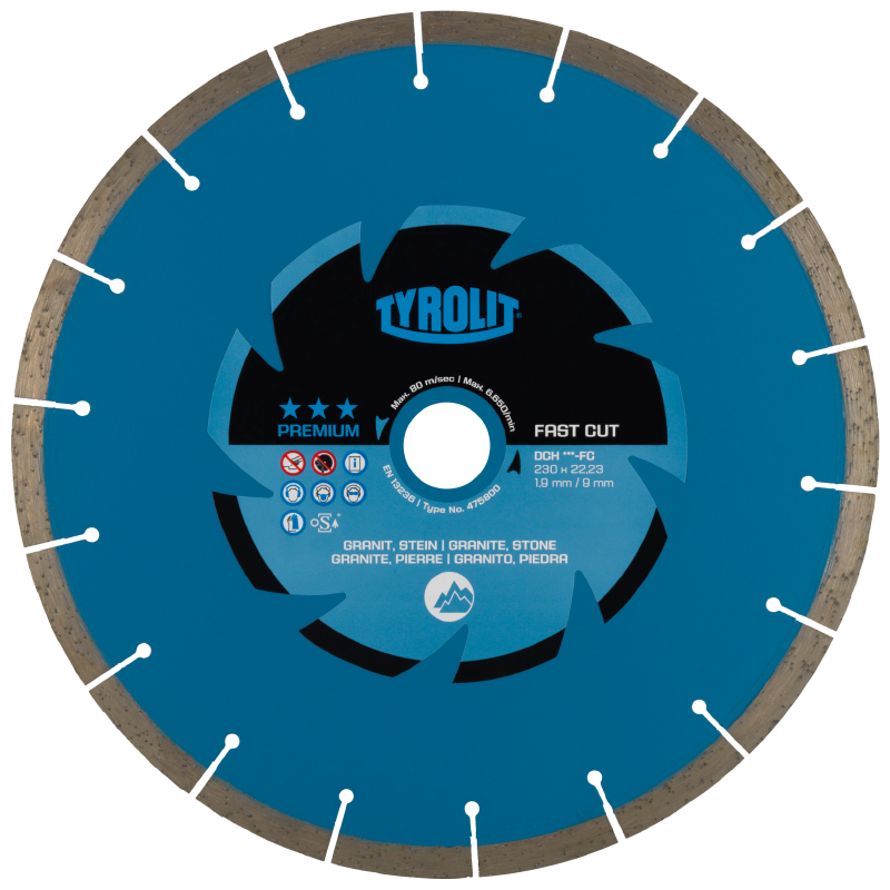 DCH*** - FC Dry Cutting Saw Blades