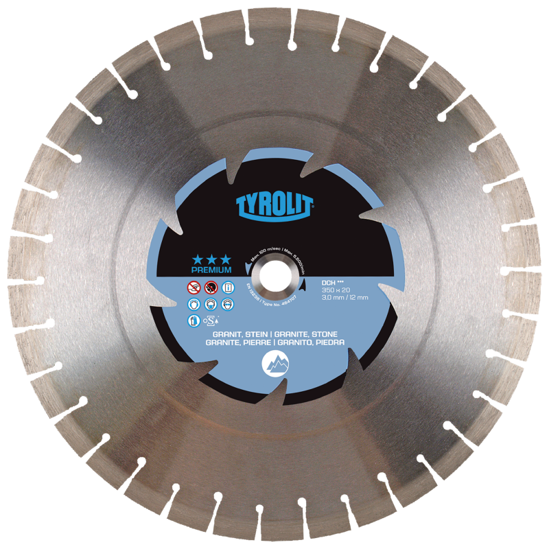 Premium*** DCH*** Dry Cutting Saw Blades