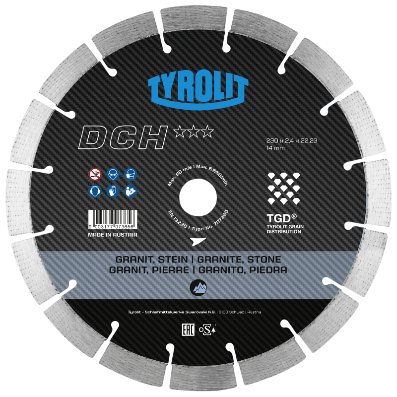 DCH*** - TGD Dry Cutting Saw Blades