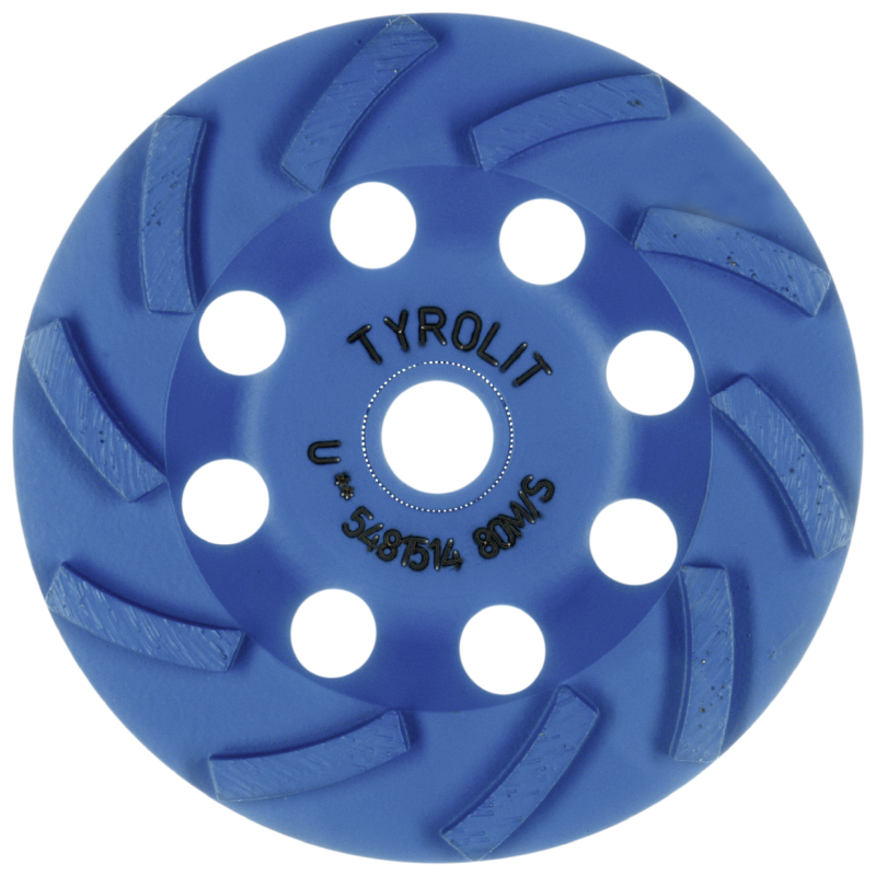Standard** DGU** Spiral Diamond Cup Wheels